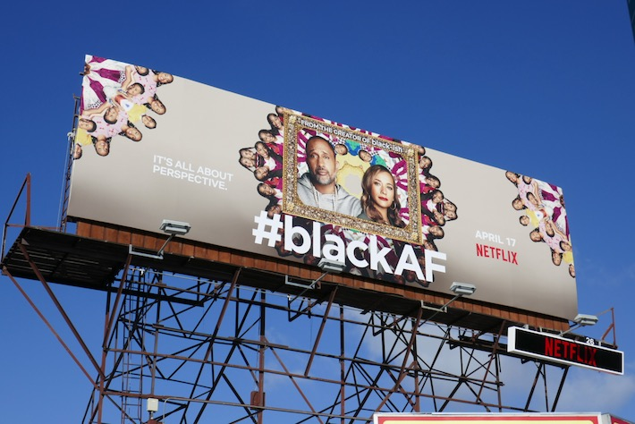 BlackAF series premiere billboard