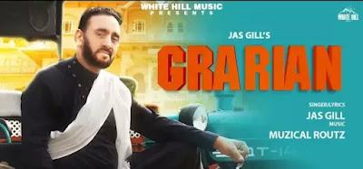 GRARIAN Lyrics - Jas Gill & Shweta Guleria