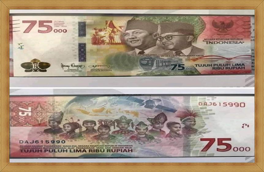 Filosofi Desain Uang Baru Rp75.000, HUT RI Ke 75 oleh BI