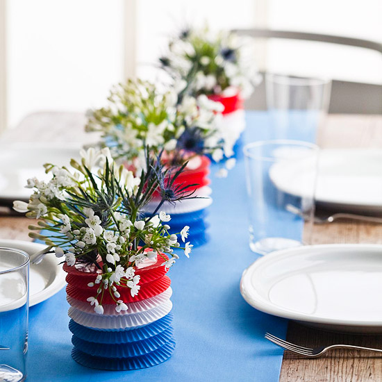 Centerpiece Decorations: Maddycakes Muse: Easy And Inexpensive 4th Of July Centerpiece