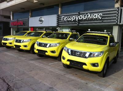 Η Nέα Οδός προμηθεύεται τα νέα Nissan ΝAVARA για το επιχειρησιακό της έργο