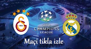 Galatasaray Real Madrid canli