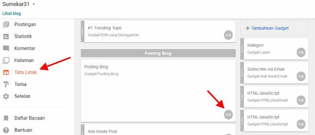 Cara Membuat Dan Menampilkan Profil Author Blog Responsive