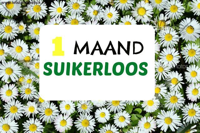 1 MAAND SUIKERLOOS
