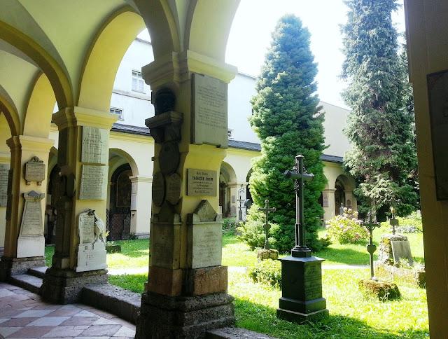 Salzburg - kyrkogårdar