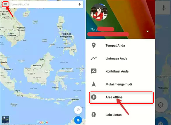 google map offline android