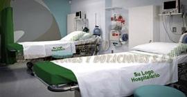 Sabanas hospitalarias en genero de 180 hilos