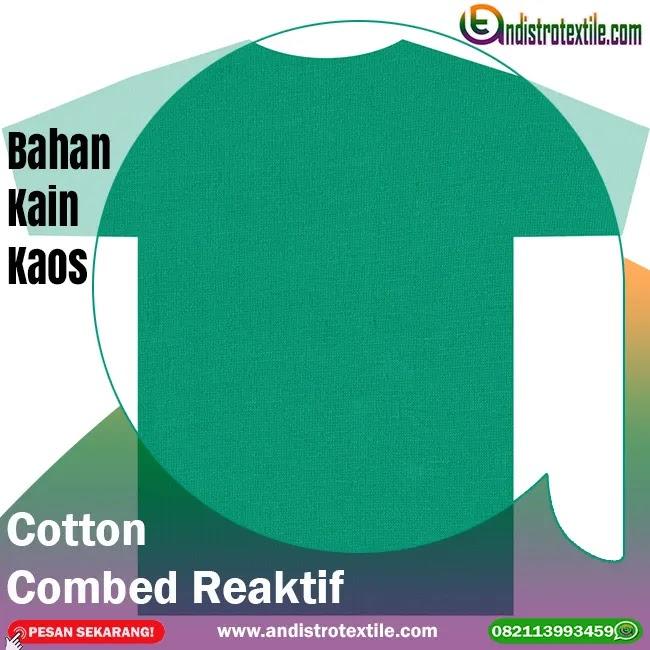 Pusat Bahan Kaos Combed 30s Tasikmalaya Harga Ecer Termurah