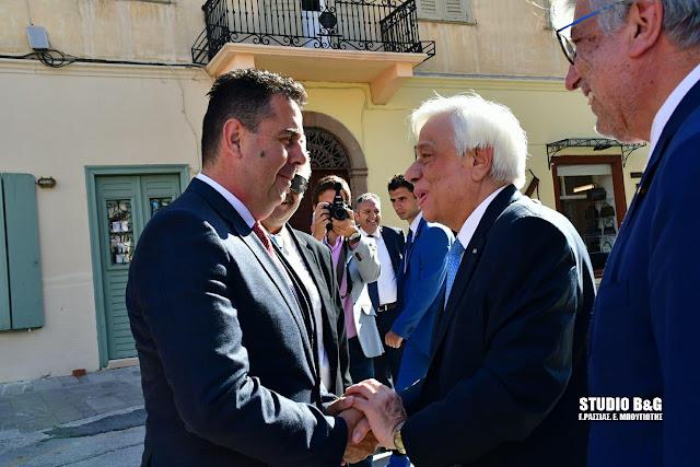 Ο Πρόεδρος της Ελληνικής Δημοκρατίας θα επισκεφθεί το Ναύπλιο