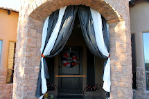 Extreme Domestication Halloween Outdoor Curtains