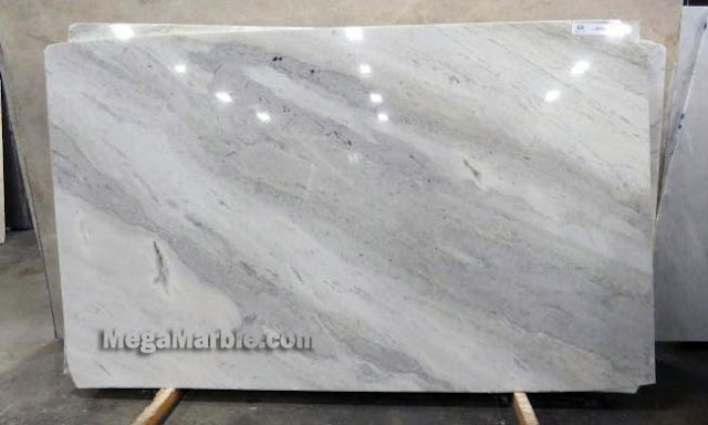Mont Blanc Approximate Marble Slab For Countertops