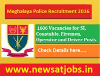 meghalaya+police+recruitment+2016