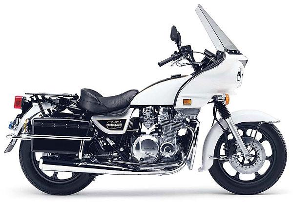 DARK CHOPPERS - BRASIL: Kawasaki KZ1000 POLICE 1978
