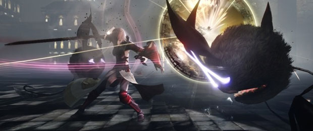 Lightning Returns: Final Fantasy XIII Offscreen Gameplay