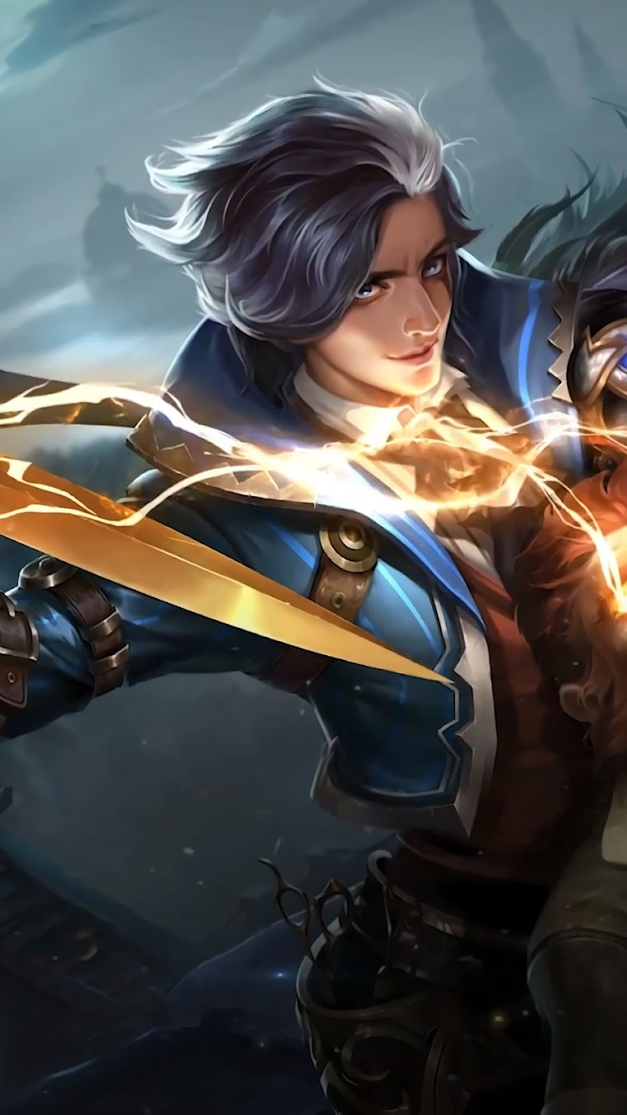 Wallpaper Gusion Hairdresser Skin Mobile Legends HD for Android and iOS