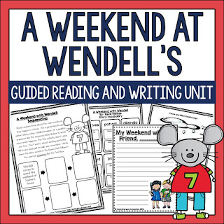 https://www.teacherspayteachers.com/Product/A-Weekend-With-Wendell-Comprehension-Activities-311339
