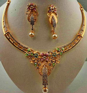 Necklace Design jewelry For Ladies | Fdbnj