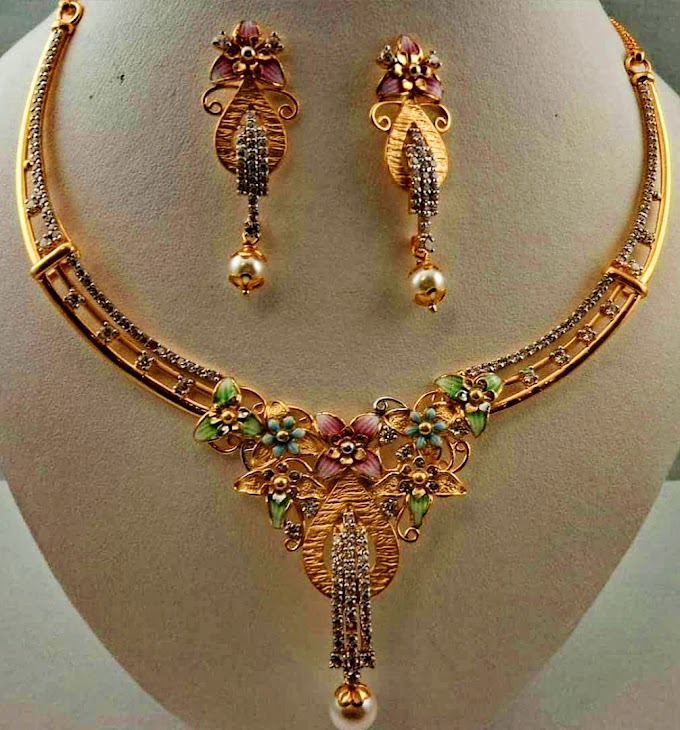 Necklace Design jewelry For Ladies | Fdbnj