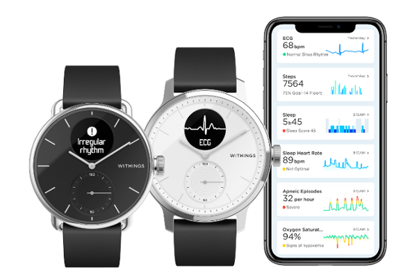 CES 2020: Withings unveils ScanWatch, World's first clinically validated hybrid smartwatch to detect both risk of Arrhythmia (AFib) and Sleep apnea