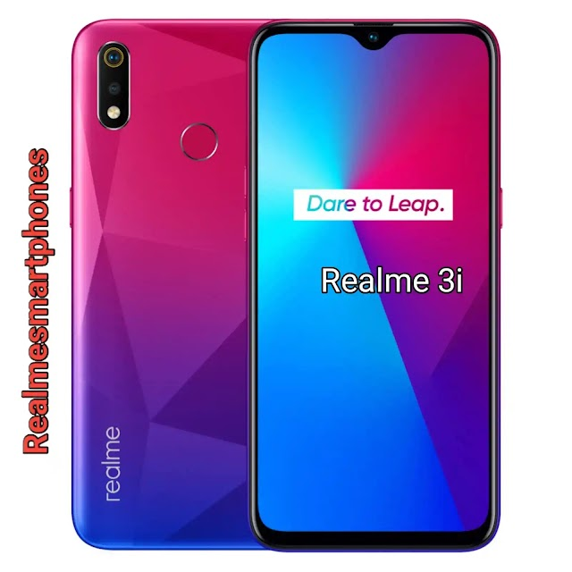 Realme 3i 4GB RAM-Price in India and Full Specifications