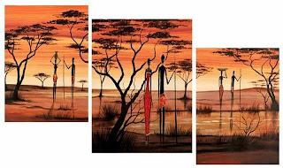 lienzos-paisajes-africanos