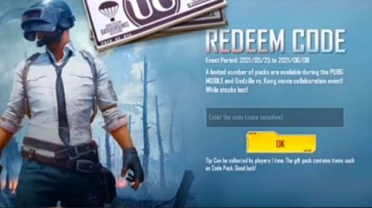 PUBG Mobile Redeem Codes Today: Redeem Now to get exciting Gifts