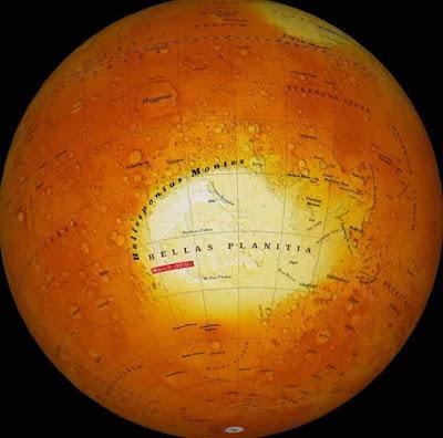 Άρης: Ένας Πλανήτης Γεμάτος με Ελληνικές Ονομασίες