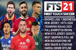 FTS 21 Shopee Liga 1 Indonesia & Full Kompetisi Eropa 2020 2021