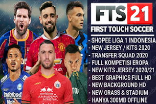 FTS 21 Shopee Liga 1 Indonesia & Full Kompetisi Eropa 2020/2021