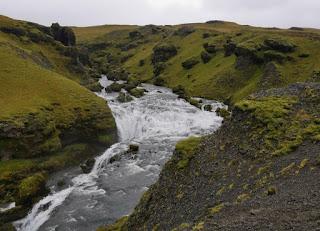 Skógafoss, Cascada de Fosstorfufoss.