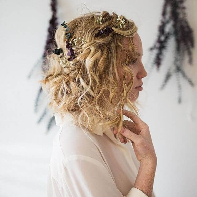 medium curly hairstyles 2019