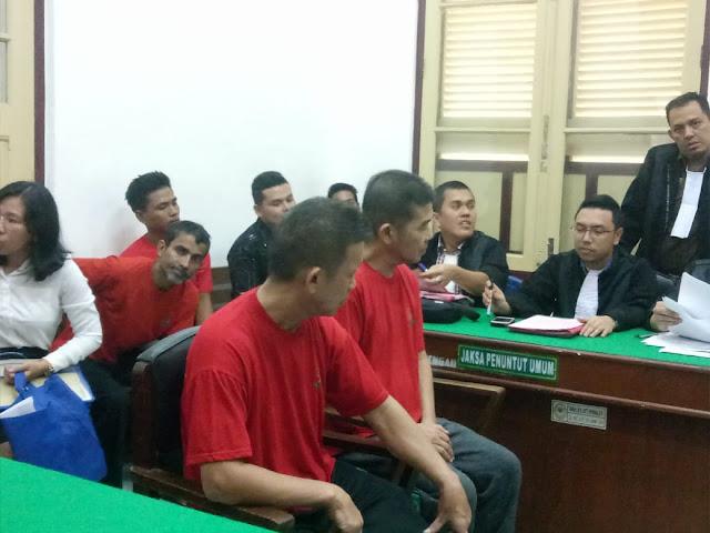 Selundupkan Sabu ke Indonesia, Dua WN Malaysia Dituntut 17 dan 18 Tahun Penjara