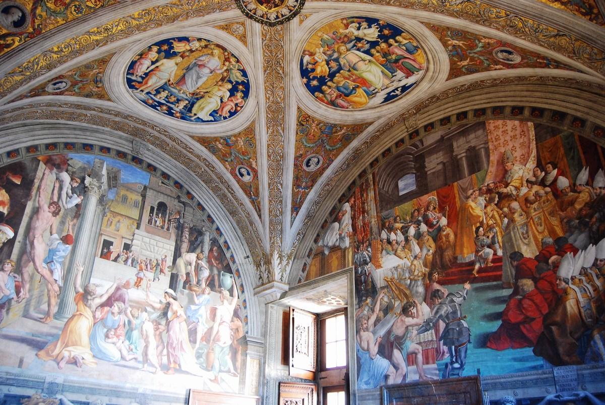 chambre de l'incendie du Borgo