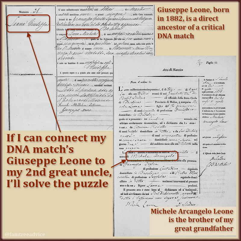 If this theory is true, I'll have 1 DNA match closely connected to my 2 parents.