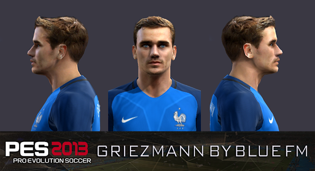 PES 2013 Antoine Griezmann Face by blue fm