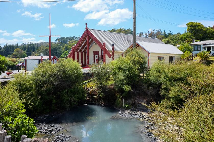 Where nature and humans live in harmony: the grounds of Whakarewarewa Village