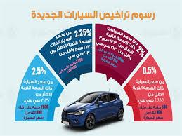 أسعار تكاليف تجديد رخصة السيارة 3 سنوات 2021