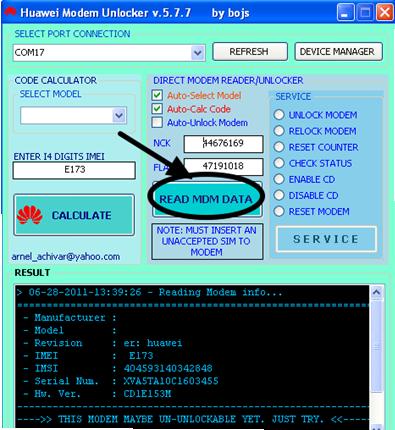 huawei usb modem unlocker software free