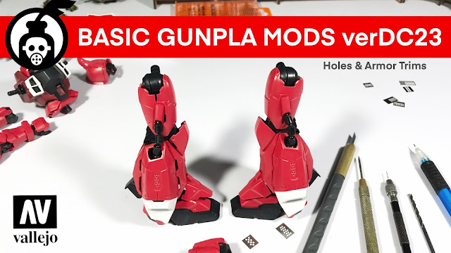 HOW TO DO Armor Trimming verDC23 at Youtube photo