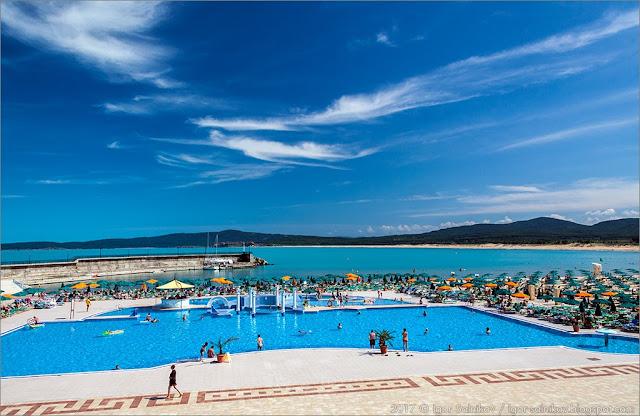 Черноморское побережье Болгарии отдых отели море где отдохнуть в Болгарии