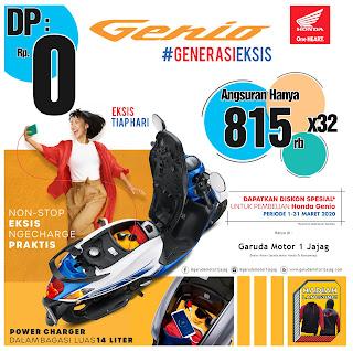 Sepeda motor Honda Genio Dp 0 (nol) rupiah Banyuwangi