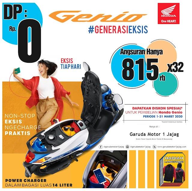 Genio DP 0 (nol) Rupiah