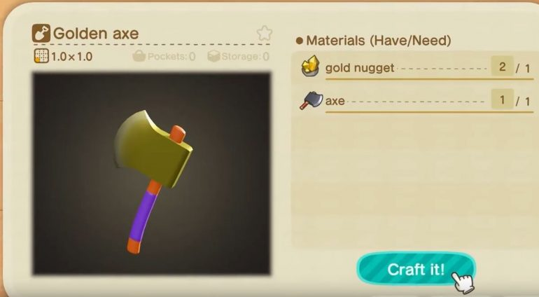 How to get gold tools in Animal Crossing: New Horizons