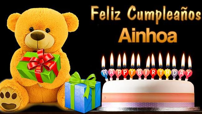 Feliz Cumpleaños Ainhoa