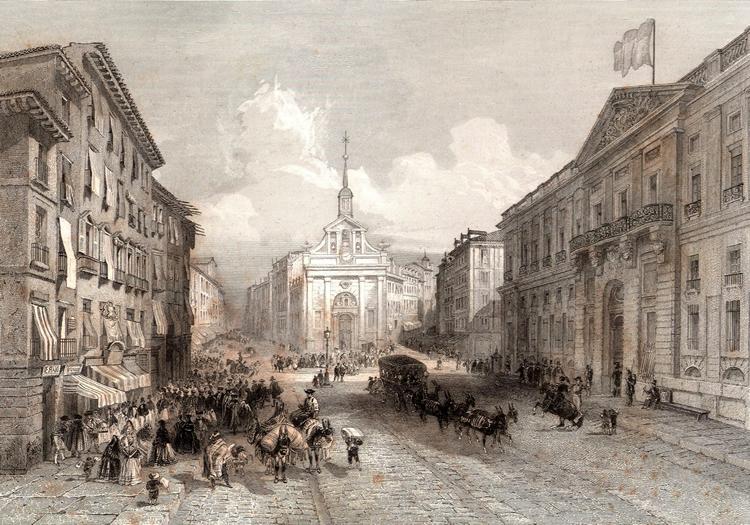 Madrid, Portugal (1852)