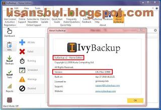 IvyBackup lifetime license key, computer backup software, pc backup pro,