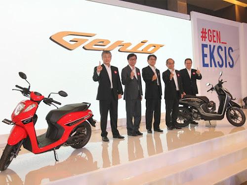 Spesifikasi dan harga motor Honda Genio 2019