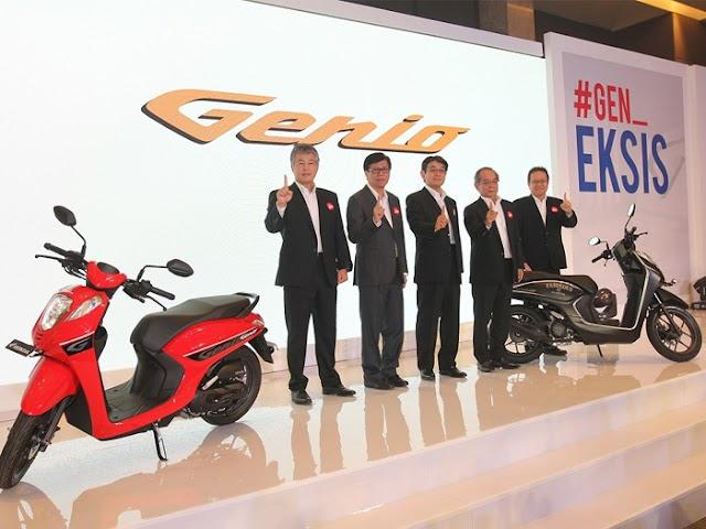 Honda Genio, Skutik Casual Fashionable Tunggangan Mantap Buat Wisata Touring