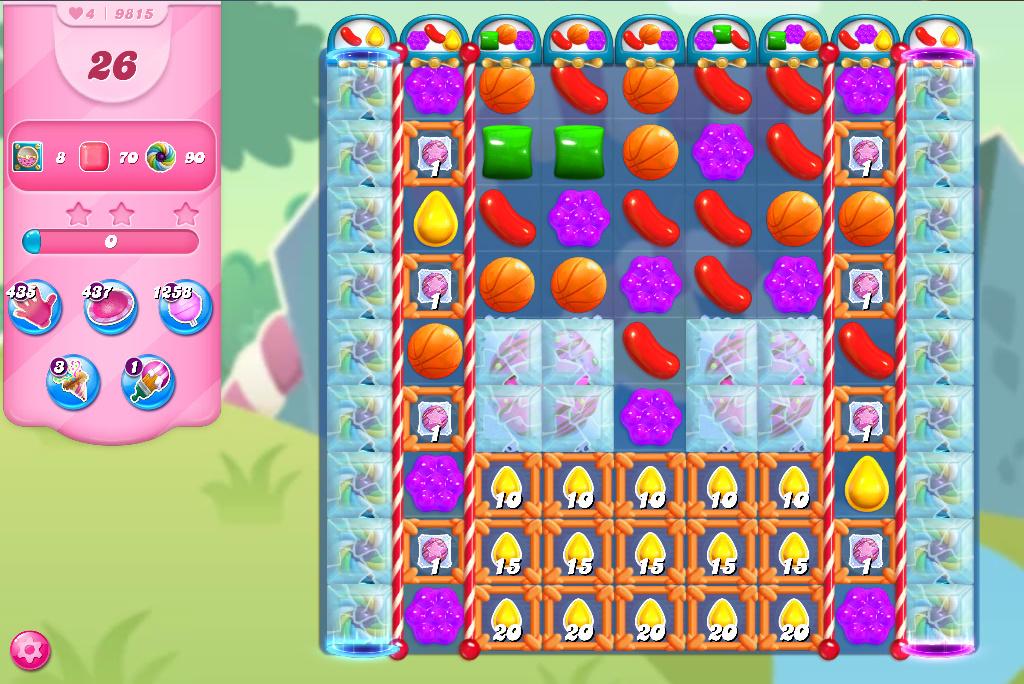 Candy Crush Saga level 9815