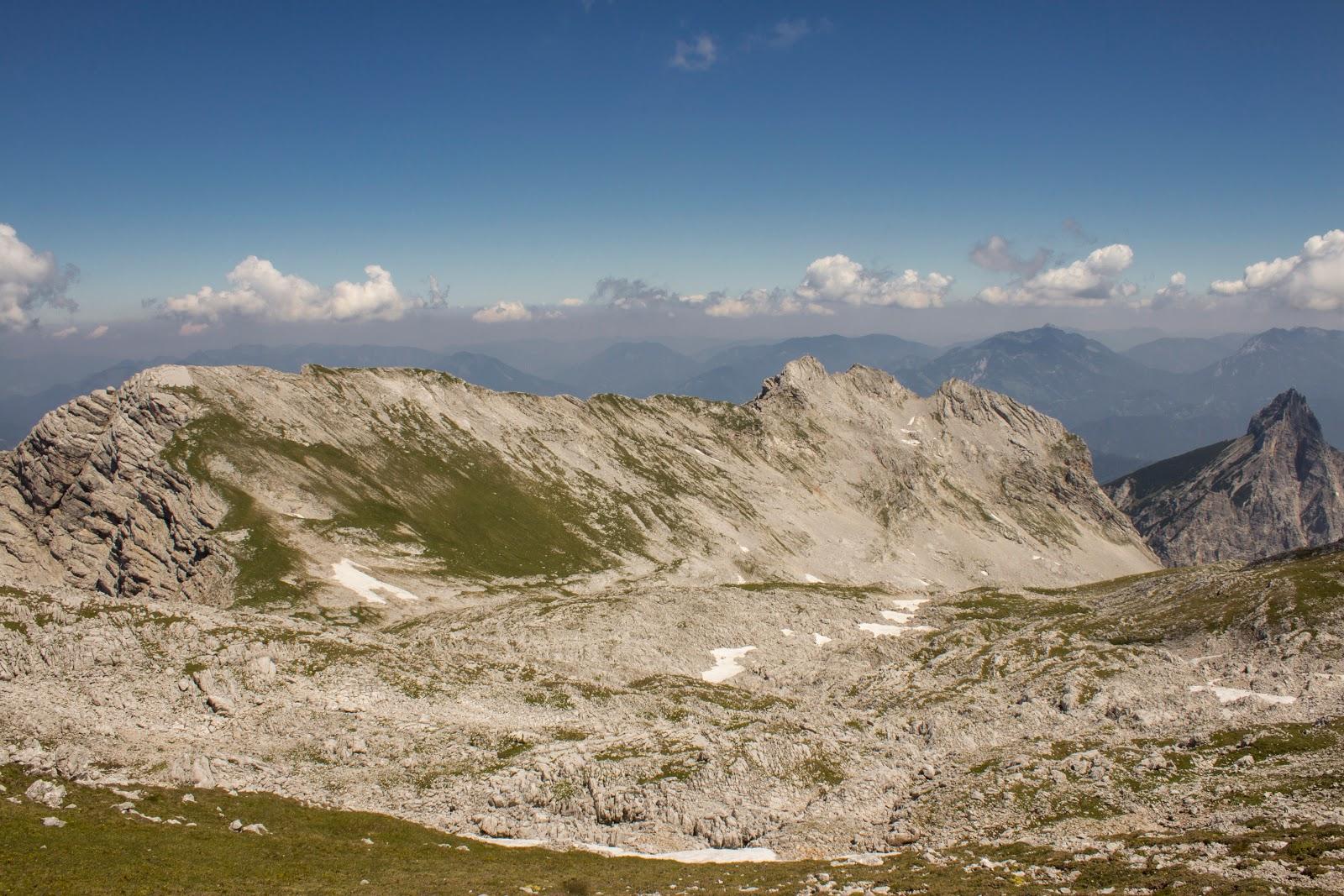Zweitätige Wanderung im Gesäuse von Gsatterboden zum Buchsteinhaus und weiter über den Südwandband Klettersteig auf den Großen Buchstein - Ausstieg Klettersteig